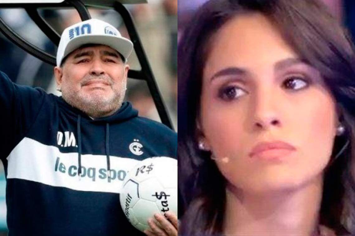 Diego Maradona gambetea el ADN a su supuesta hija  Magalí