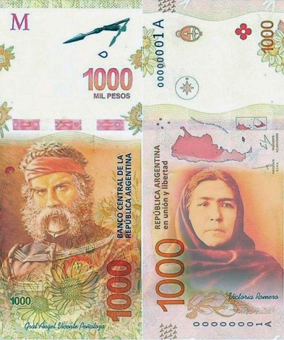 El Chacho Peñaloza y su esposa, candidatos a tener sus propios billetes
