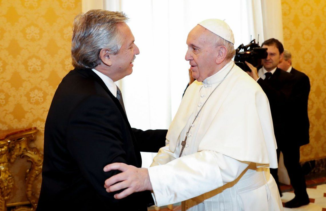 El Papa Francisco envió sus saludos a Alberto Fernández por el 25 de Mayo