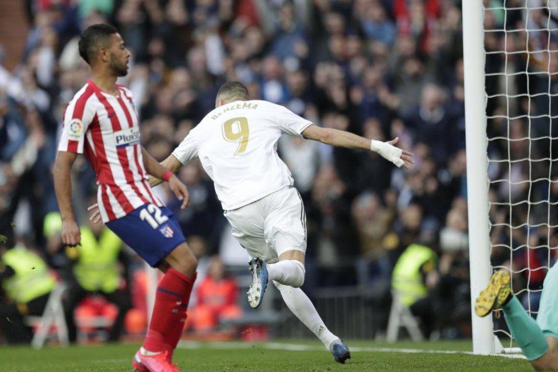 El Real le ganó con lo justo al Atlético el clásico de Madrid