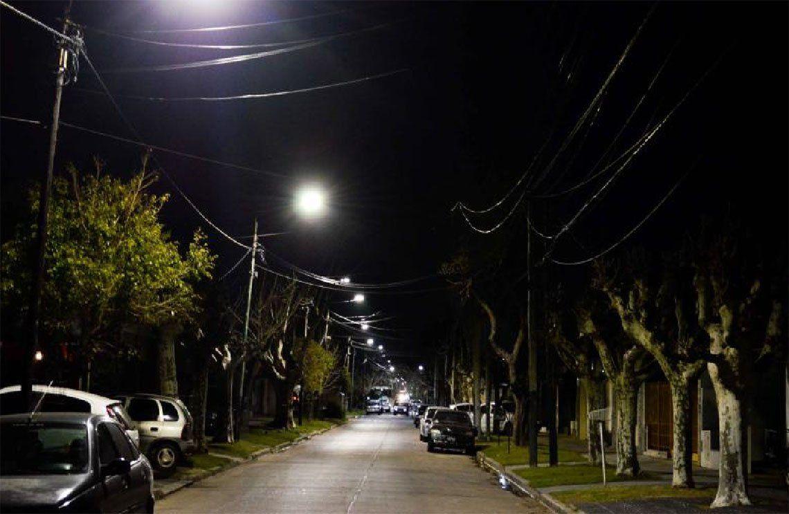 Lomas de Zamora: se profundizó el Plan de Reconversión Lumínica