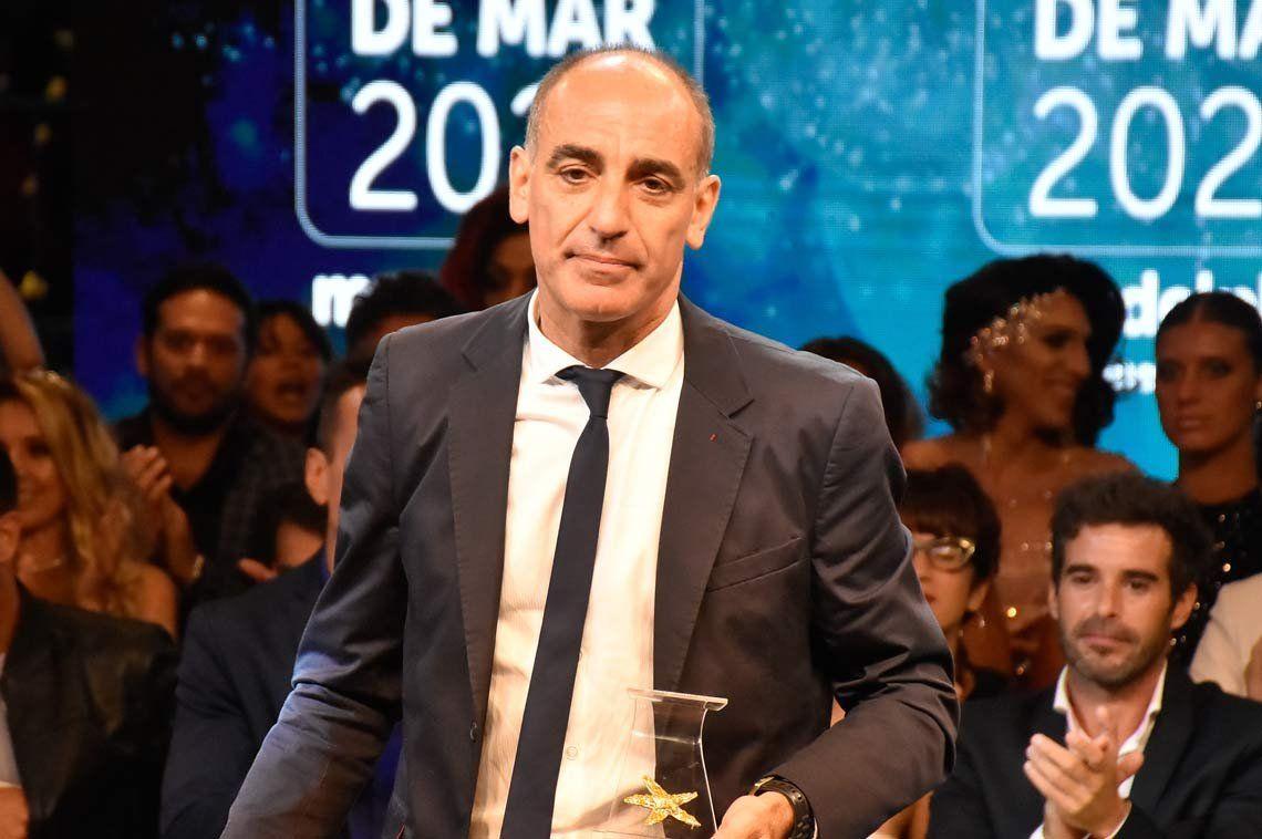 Mauricio Dayub fue el gran ganador de los premios Estrella de Mar