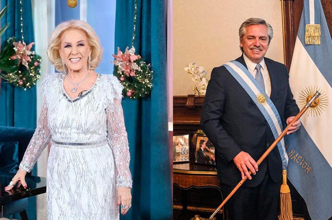 Mirtha Legrand reveló que habló con Alberto Fernández: Me contestó muy amablemente