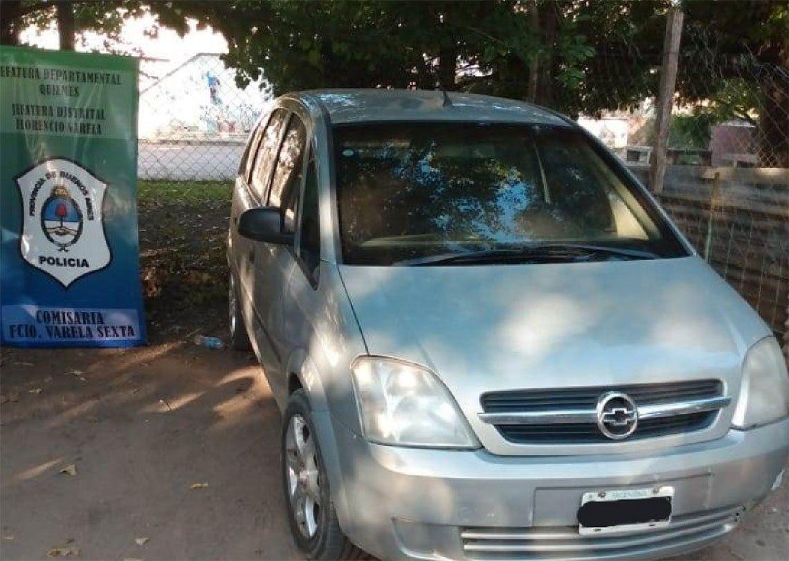 Florencio Varela: dos chicos de 12 y 14 años robaron un auto y escaparon disparando al aire