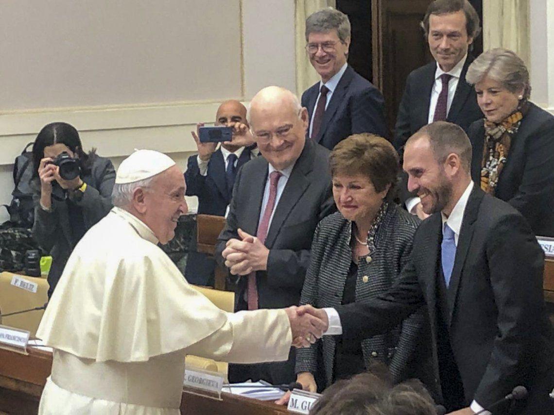 Martín Guzmán se reunirá mañana con el Papa Francisco