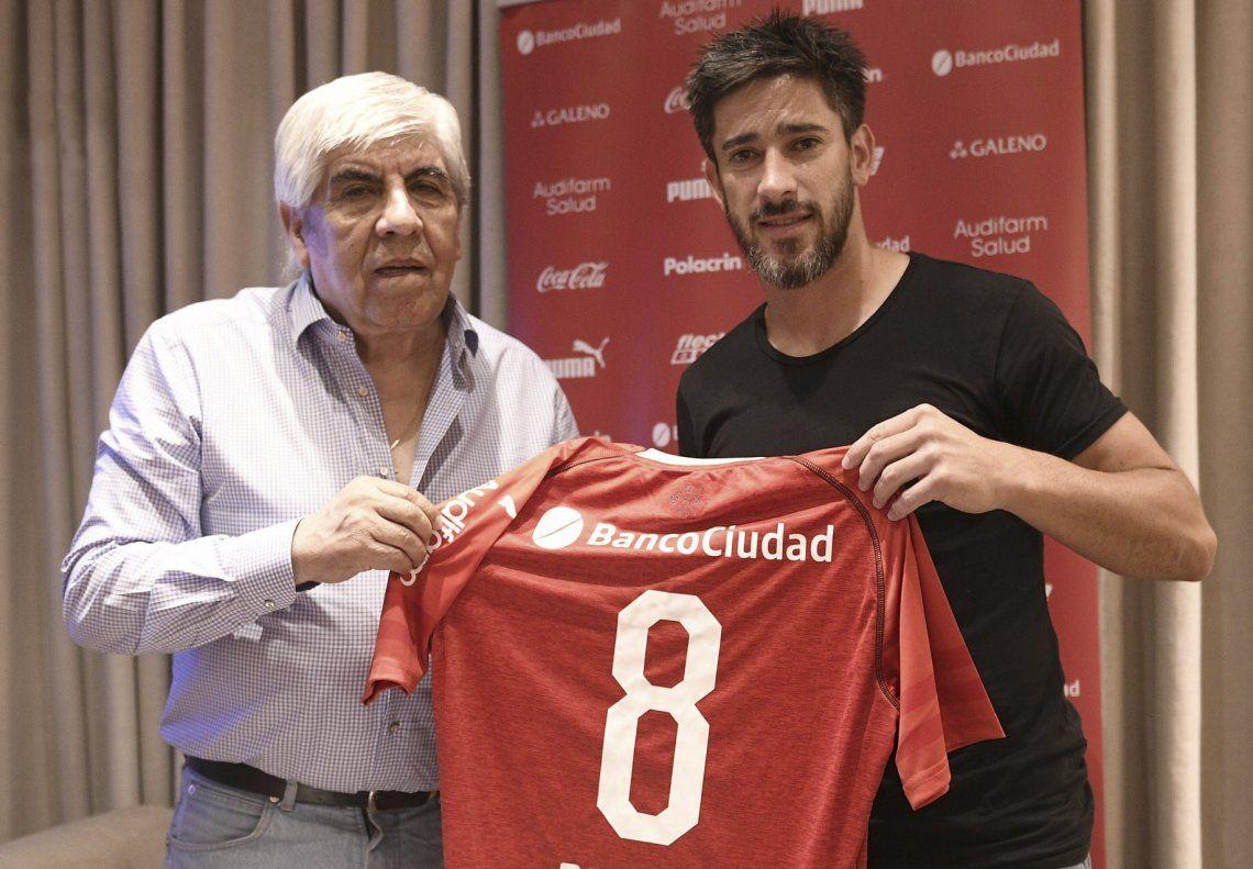 Punto final para la historia de Pablo Pérez en Independiente