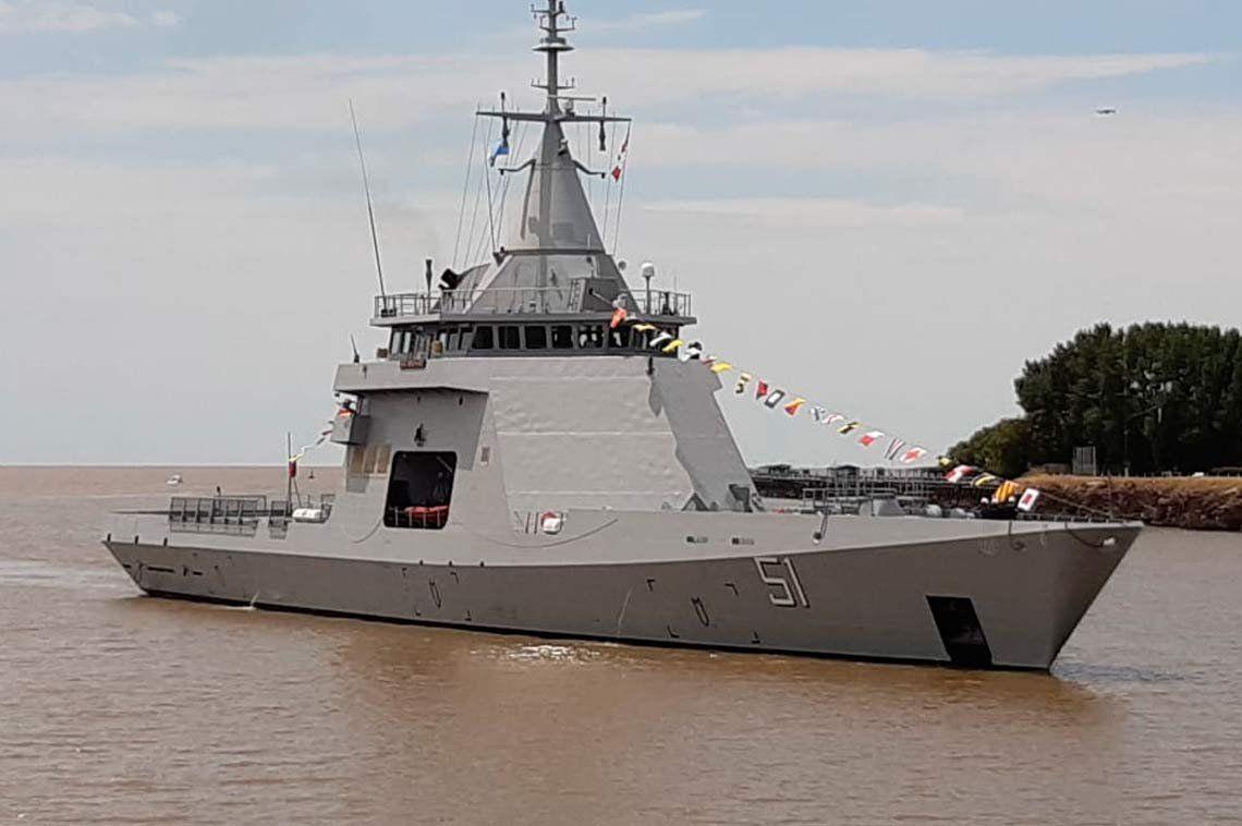 ¿Cómo es el ARA Bouchard, el patrullero océanico que llegó desde Francia?