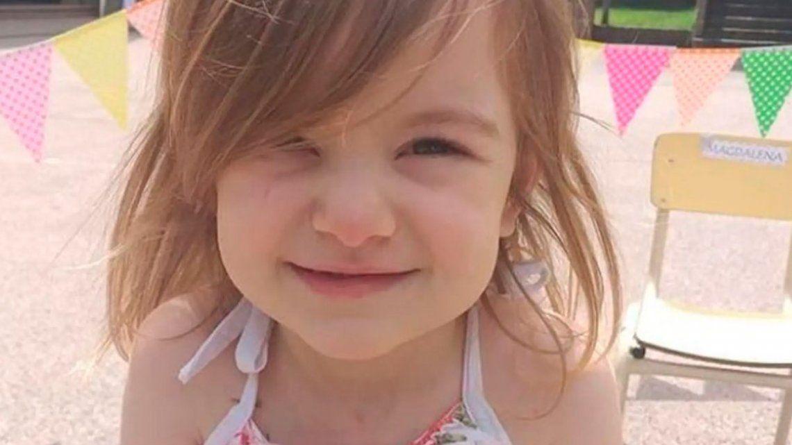 #UnCorazónParaMara: lanzan una campaña en busca de donantes para una niña de 3 años