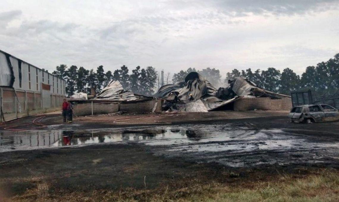 Santa Fe: un hombre murió tras la explosión la explosión de un planta de biodiesel