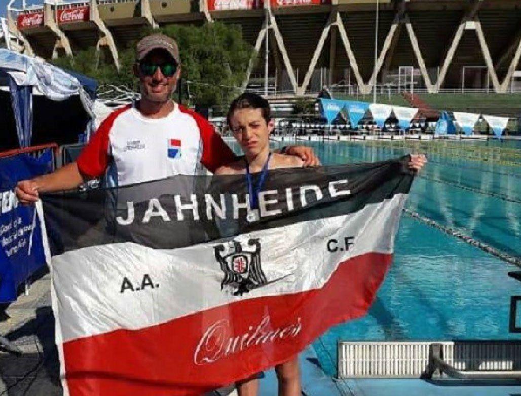 Quilmes: jornada solidaria para Matías Armida, una de las promesas de la natación en la Argentina