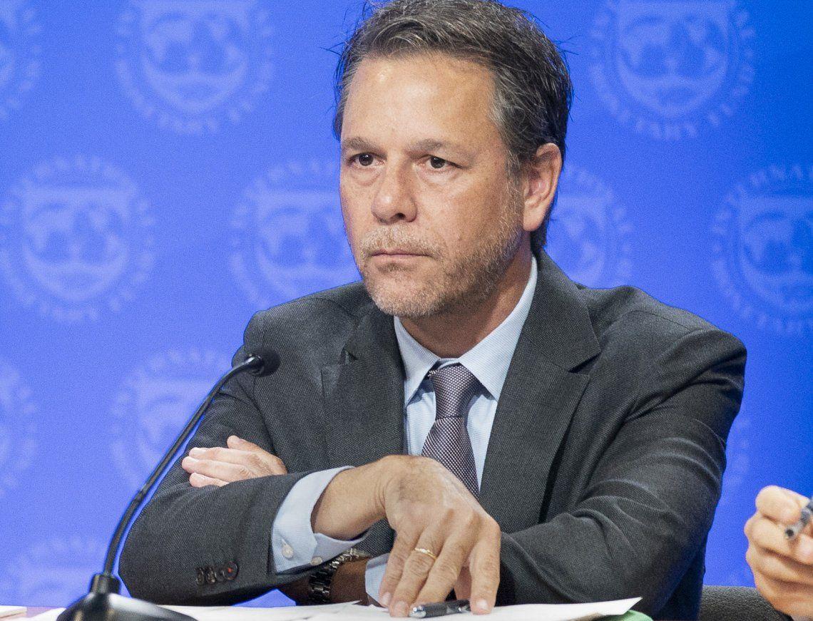El venezolano Luis Cubeddu encabezará la delegación del Fondo.