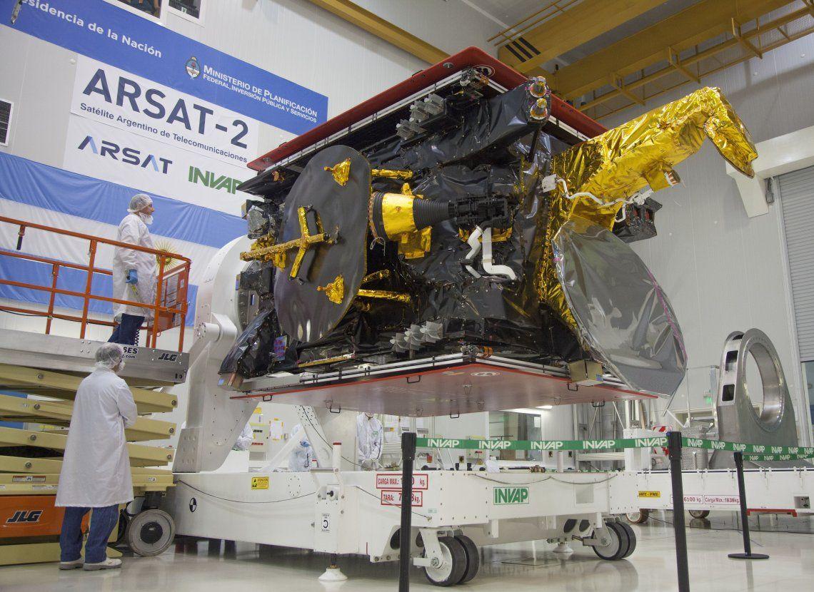 El satélite ARSAT Segunda Generación 1 (SG1) estará a 35.786 kilómetros sobre el nivel del mar.
