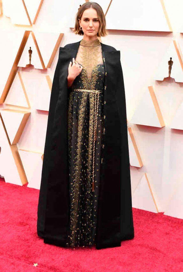 Natalie Portman respondió a las críticas por su vestido