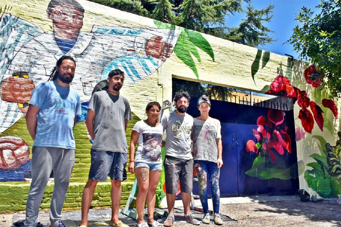 Quilmes: un mural para Lautaro Leguizamón Ramírez, el niño que falleció en la tosquera de Scarpato