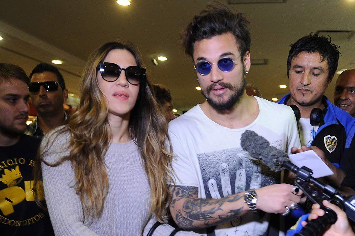 Jimena Barón recibió el apoyo de su ex Daniel Osvaldo y otros famosos
