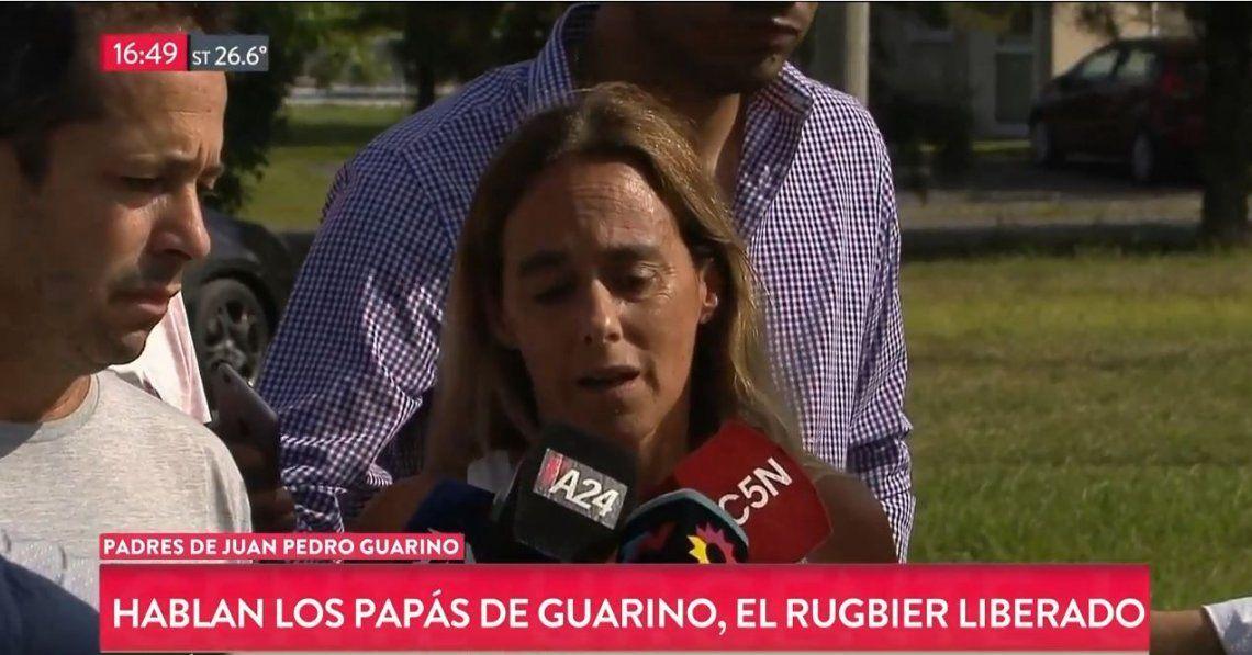 Crimen de Villa Gesell: los padres de Guarino quieren hablar con la familia de Fernando Báez