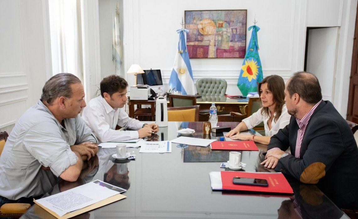 Una imagen de la reunión