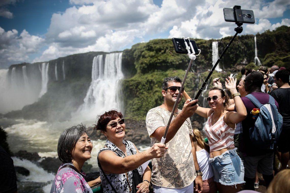 El turismo digital en las Cataras del Iguazú