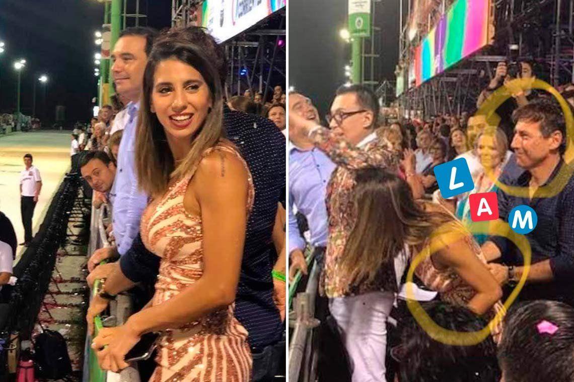 Cinthia Fernández niega romance con el senador Luis Naidenoff