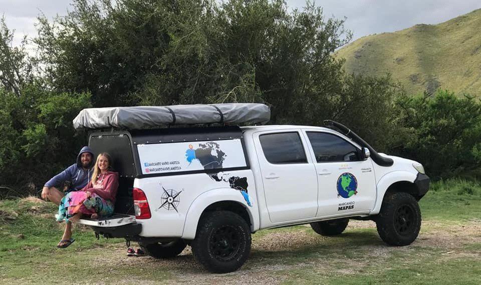 El próximo destino de la pareja de aventureros será Bolivia.