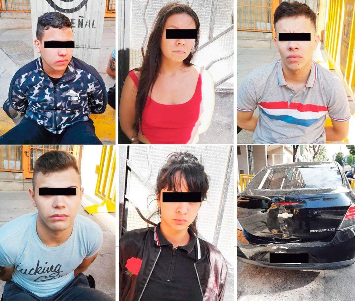 Cinco detenidos por el salvaje robo en el shopping que dejó parapléjico a un hombre