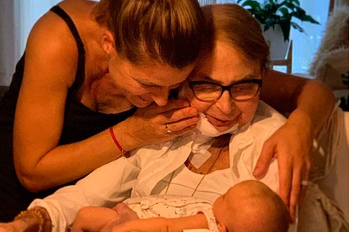 Eugenia Tobal vive su peor momento: murió su mamá