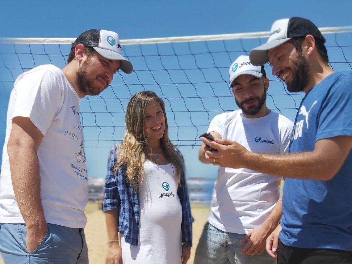 Cómo funciona la plataforma online para reservar carpas en la Costa