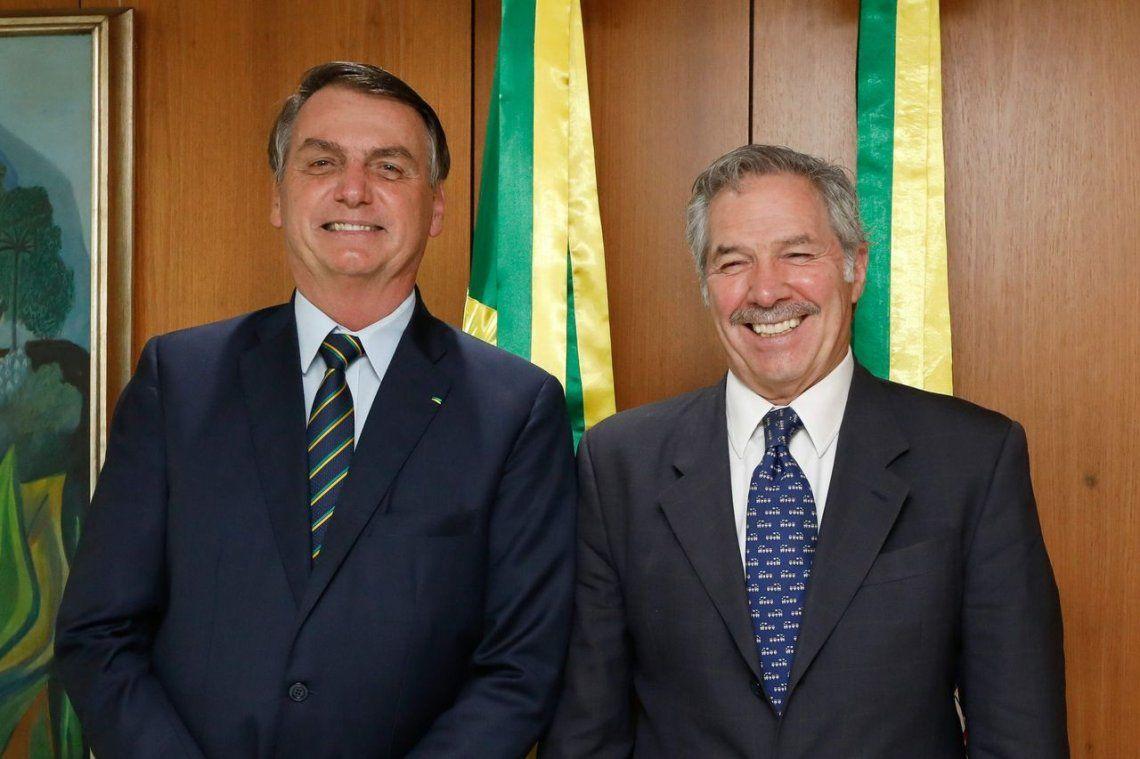 Jair Bolsonaro anunció que apoyará en todo lo que pueda a la negociación de Argentina con el FMI y dijo que espera entenderse bien con Alberto Fernández