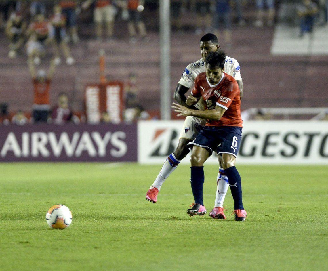 En fotos: Independiente le ganó a Fortaleza por la Copa Sudamericana