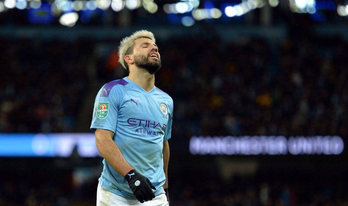El Kun Agüero se queda sin Champions: Manchester City fue expulsado de las ligas europeas por dos años