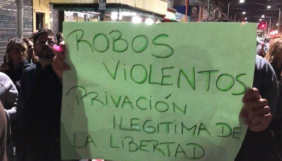 Los reclamos se suceden desde la primera marcha por inseguridad en Avellaneda