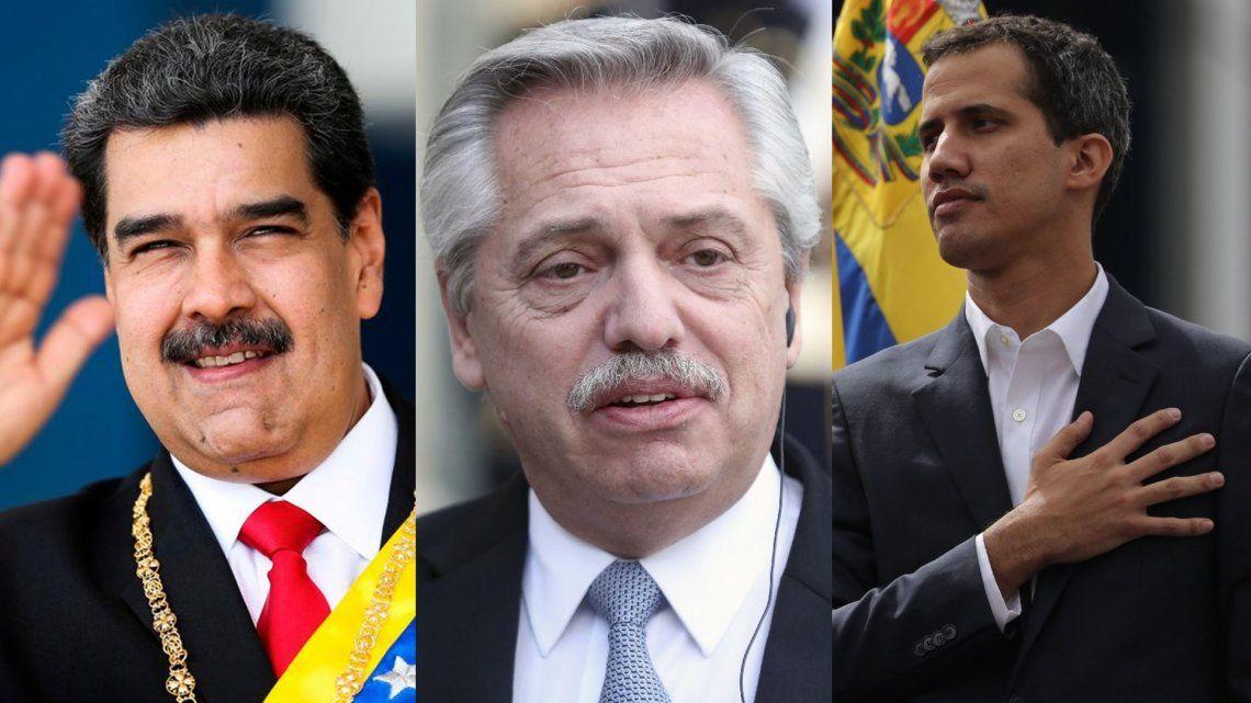 Nicolás Maduro y Juan Guaidó coinciden en que Argentina puede ser clave para ayudar a destrabar la crisis en Venezuela
