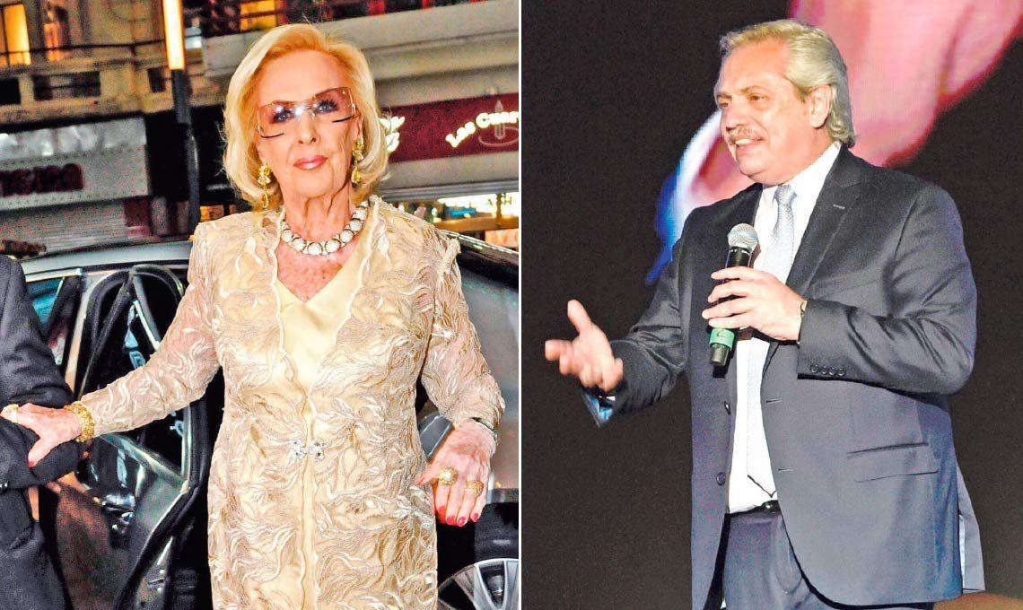 Cerrando las grietas: Mirtha Legrand invitaría a Alberto Fernández a su mesaza