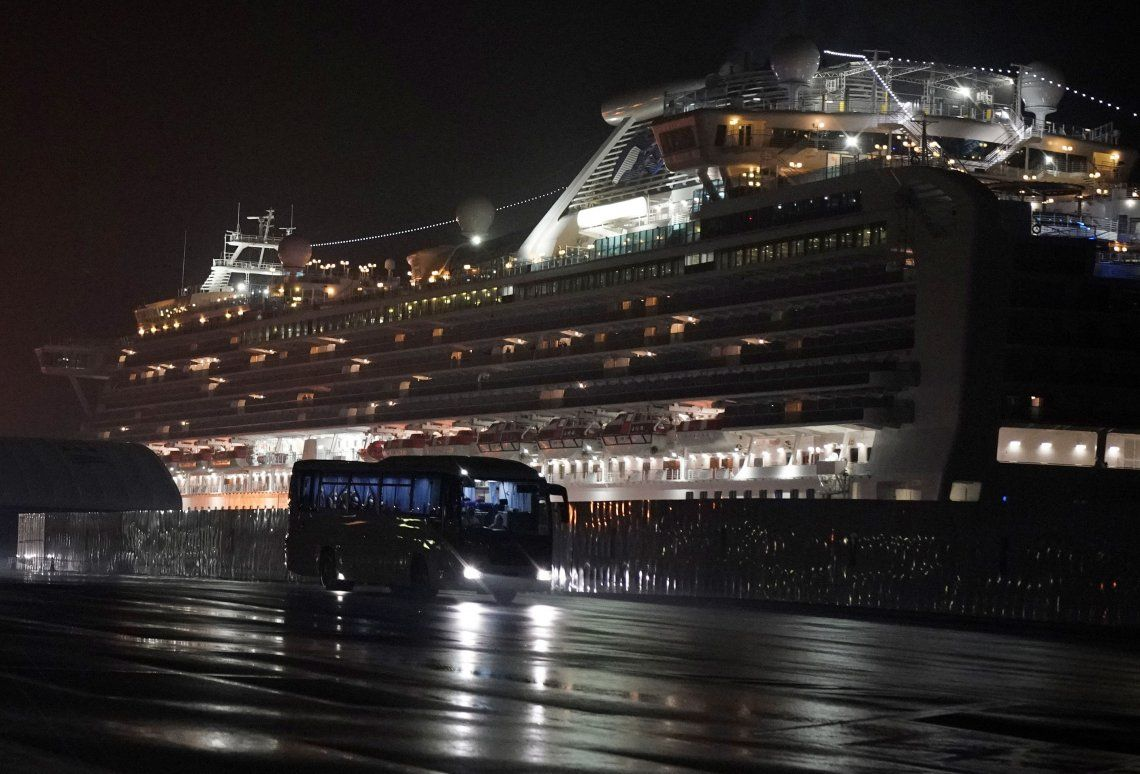 Coronavirus: detectaron 70 nuevos casos en el crucero en cuarentena en Japón