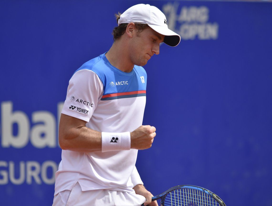 El noruego Casper Ruud se consagró campeón del Argentina Open