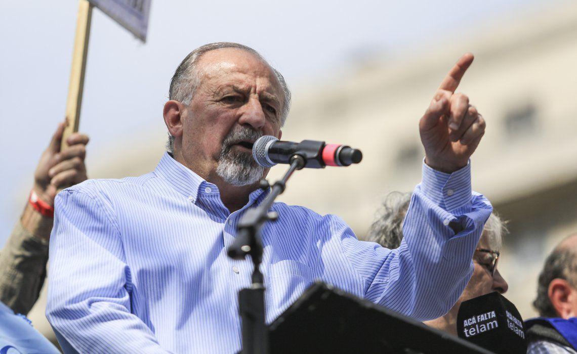 Yasky aclaró que la unidad sindical se puede dar