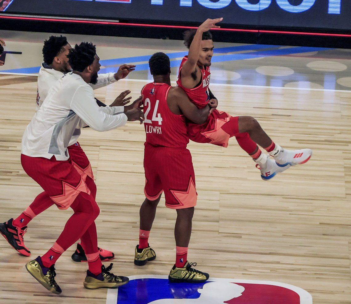 Las mejores fotos del NBA All Stars 2020