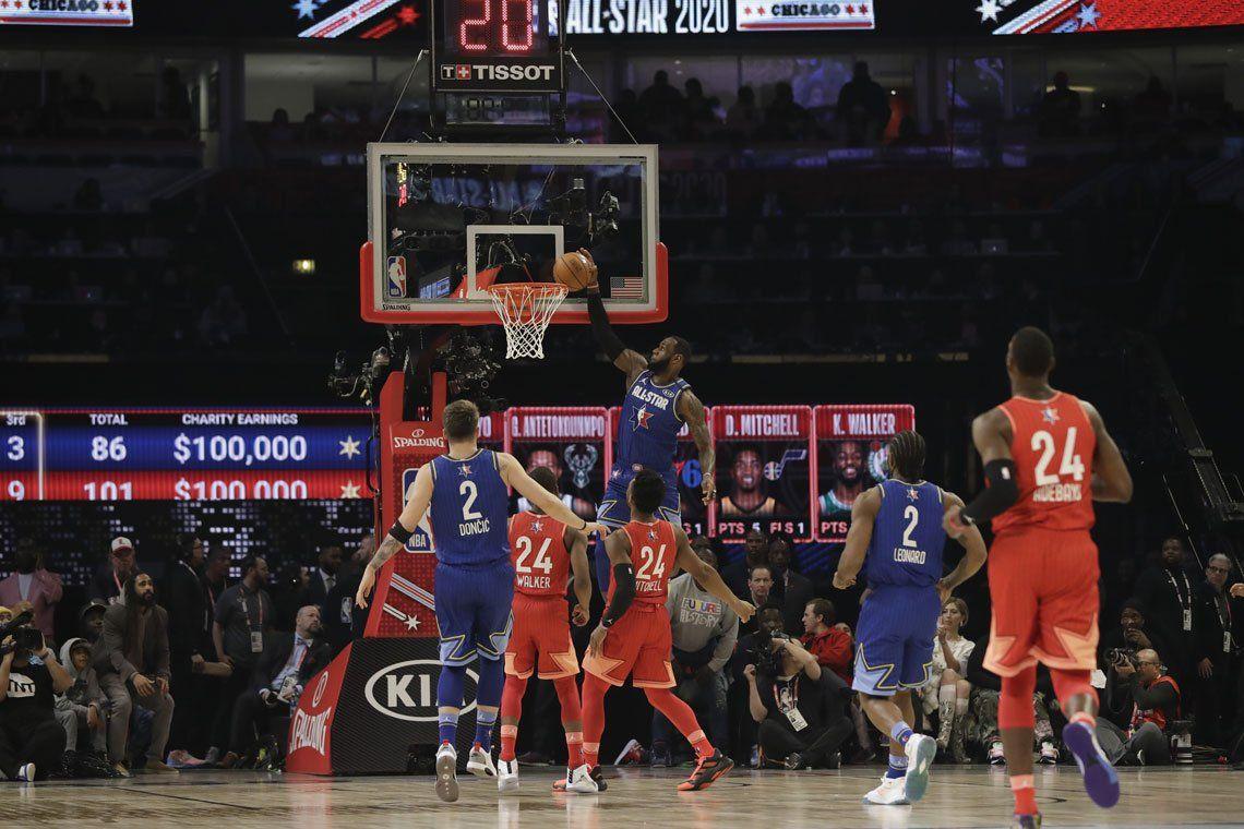 Por el coronavirus la NBA se vuelve virtual