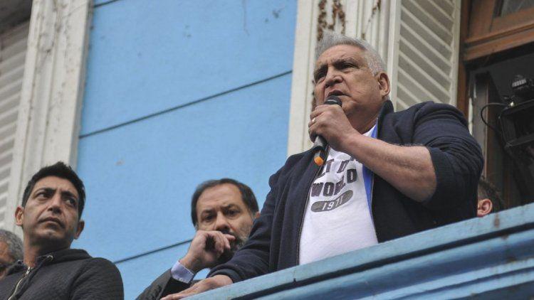Otorgan arresto domiciliario al sindicalista Pata Medina