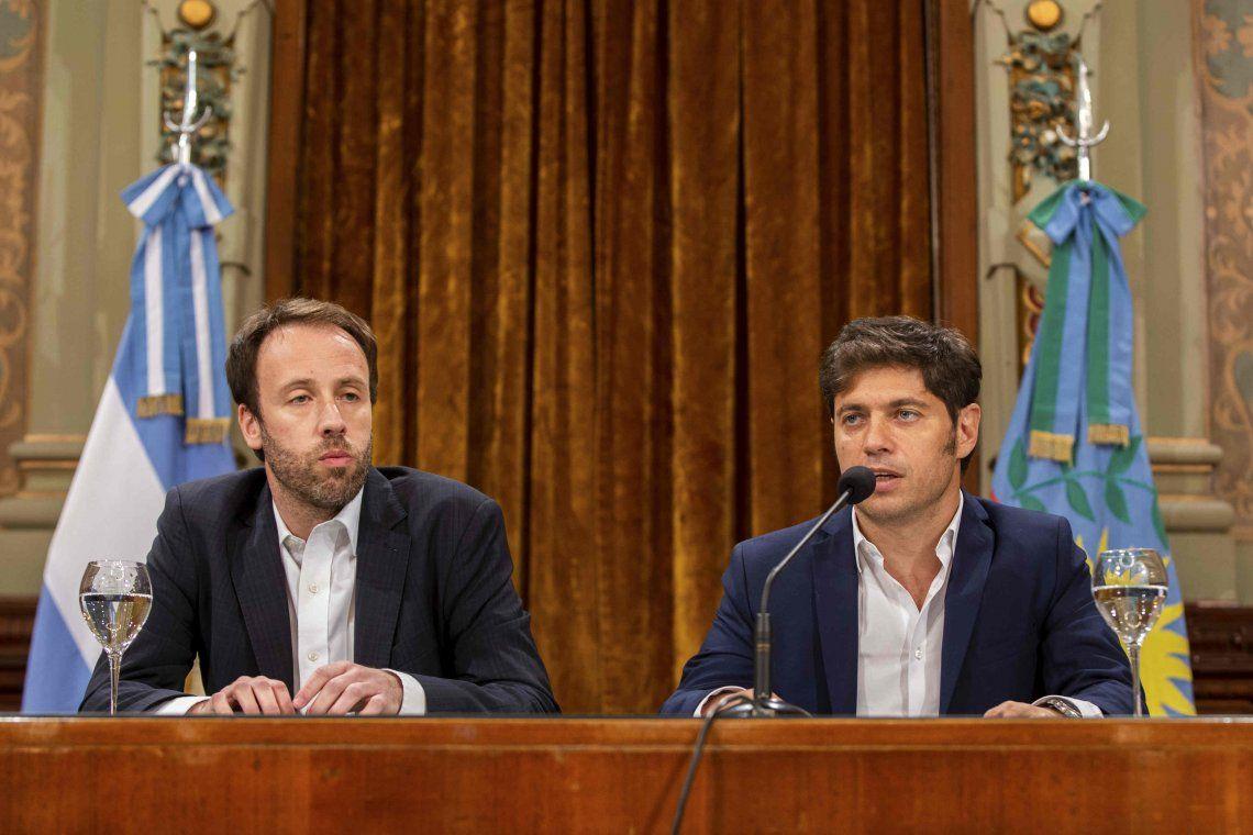 Axel Kicillof dispuso un aumento salarial de $4000 para los estatales bonaerenses