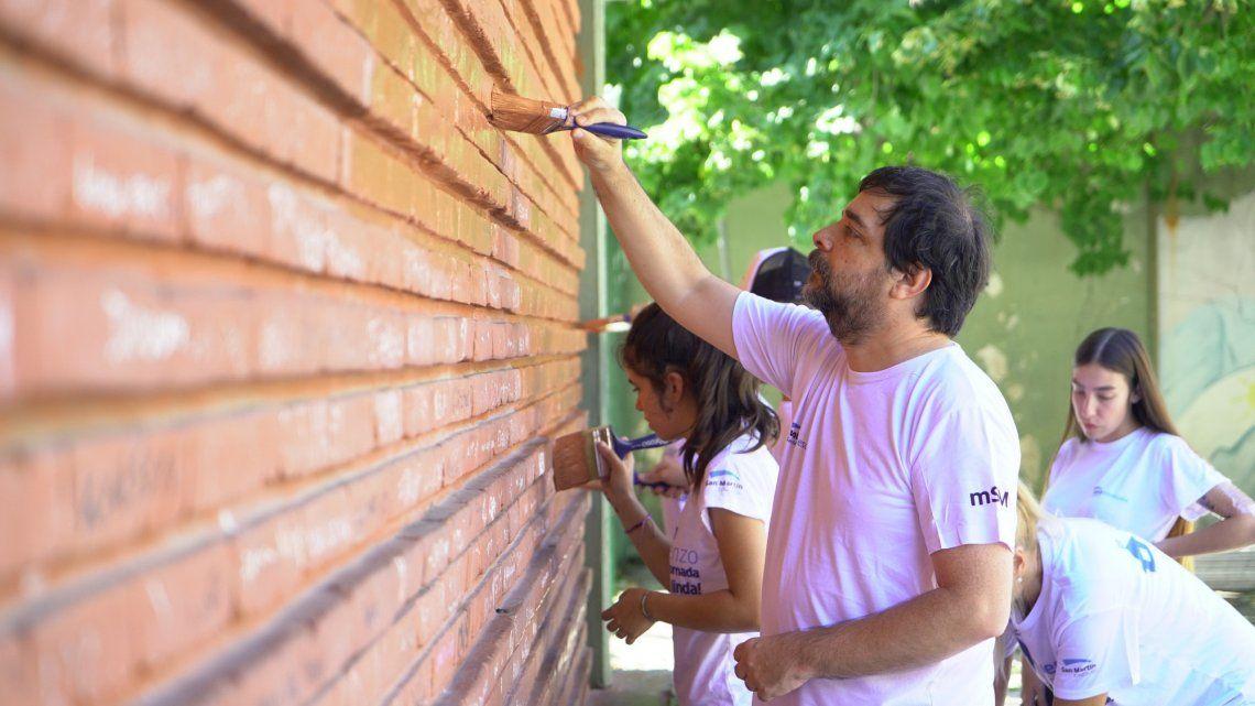 San Martín: cerca de 2 mil voluntarios acondicionaron escuelas y jardines