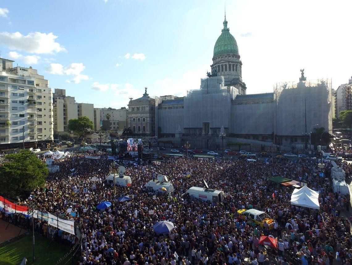 Las fotos de la marcha a un mes del crimen de Fernando Báez Sosa
