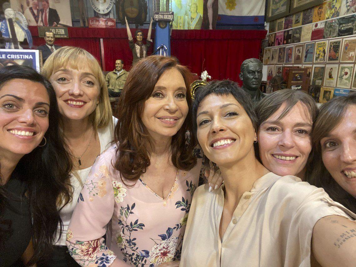 Cristina Kirchner festejó su cumpleaños junto a Alberto Fernández y otros 40 invitados