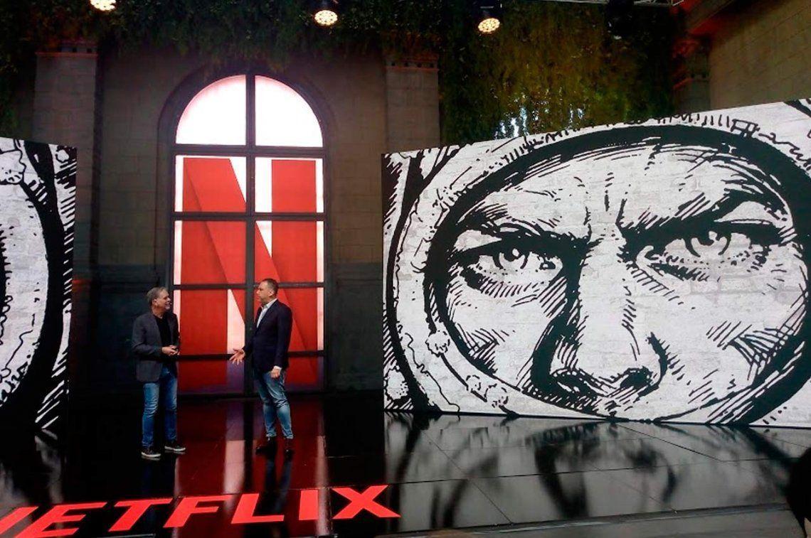 Netflix confirmó que hará una serie de El Eternauta