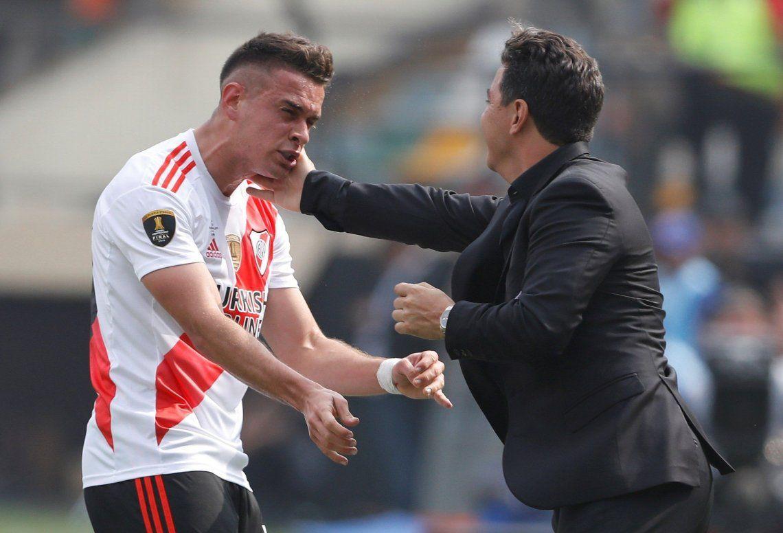 Gallardo los empezó a probar el año pasado y en esta Superliga los afirmó: Borré-Suárez, letales