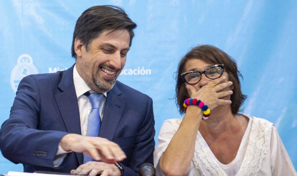 Trotta y D'Alessio de CTERA a fines de enero
