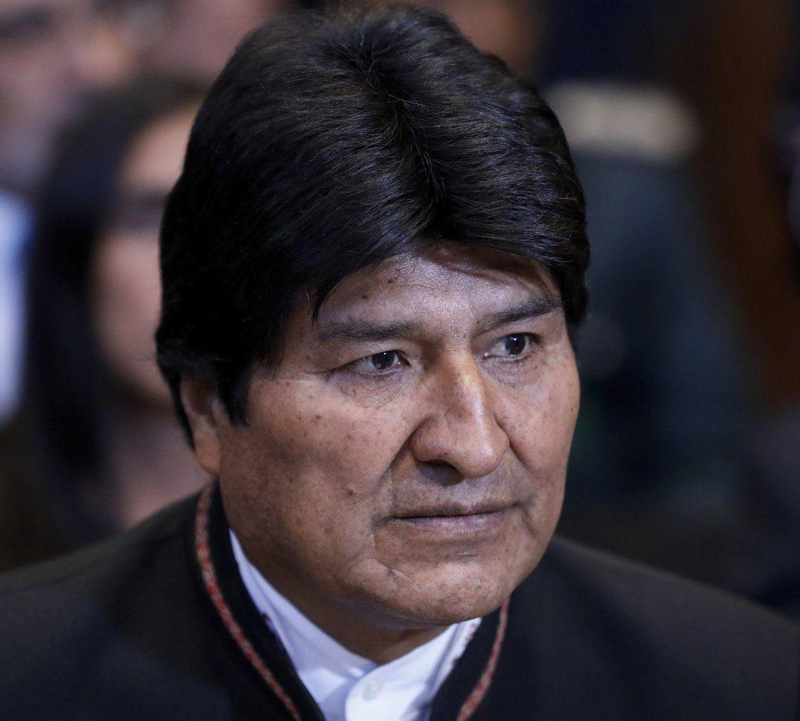 La candidatura a senador de Morales sigue sin definirse.