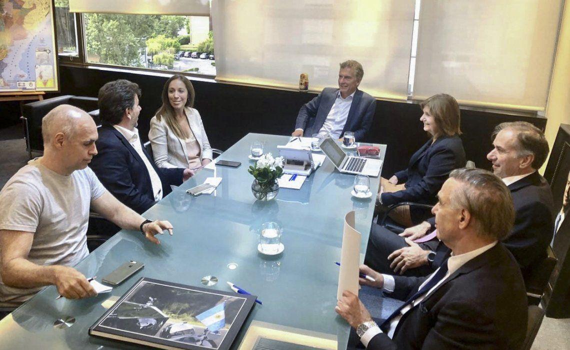 Mauricio Macri regresó a la actividad política y encabezó una cumbre de la mesa nacional del PRO