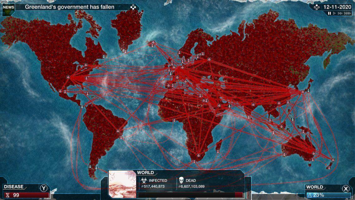 Coronavirus: juegos y películas sobre epidemias se convierten en fenómeno viral