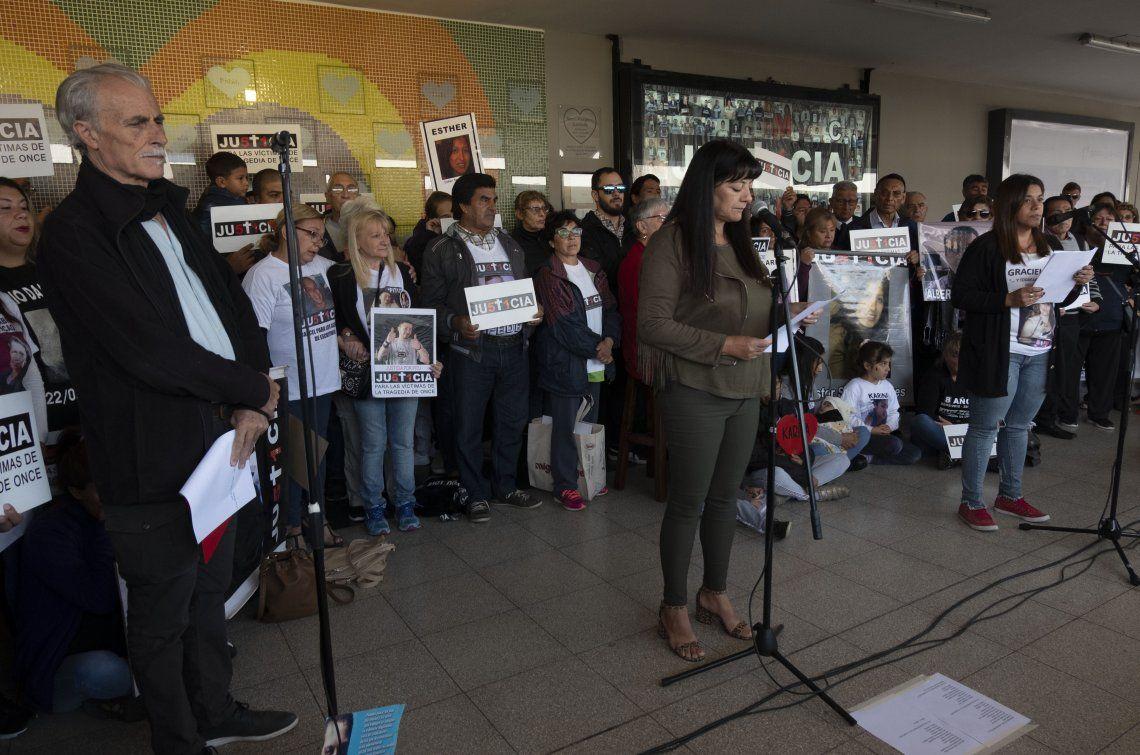 A 8 años de la Tragedia de Once, familiares de victimas realizaron un homenaje y reclamaron que la Corte Suprema ratifique las condenas